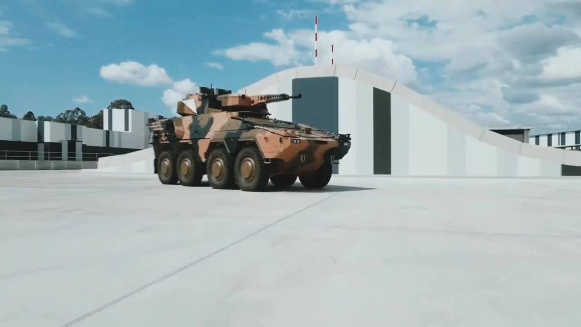 Rheinmetall Conducts Factory Tests with Block 1 Boxer Combat Reconnaissance Vehicle