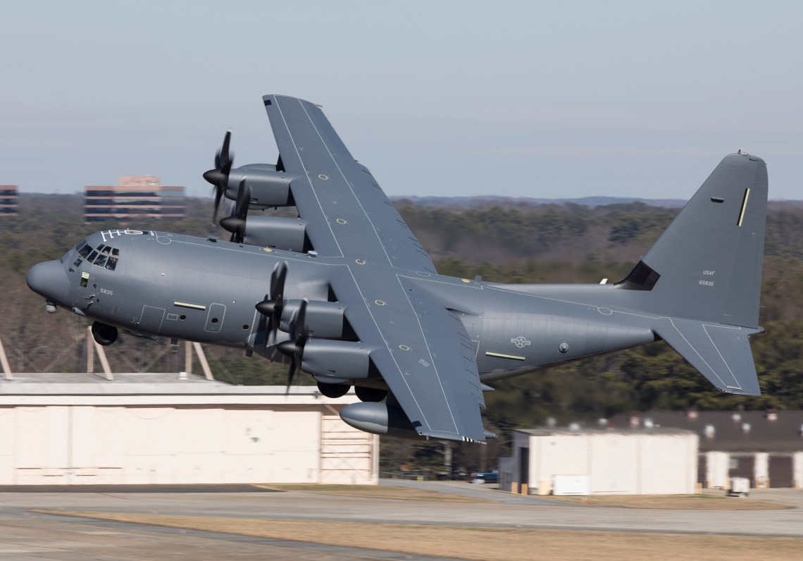Airlifters like the MC-130J have the potential to deploy large quantities of JASSM-ERs, providing a significant increase in long-range standoff scale. (Photo by Lockheed Martin)