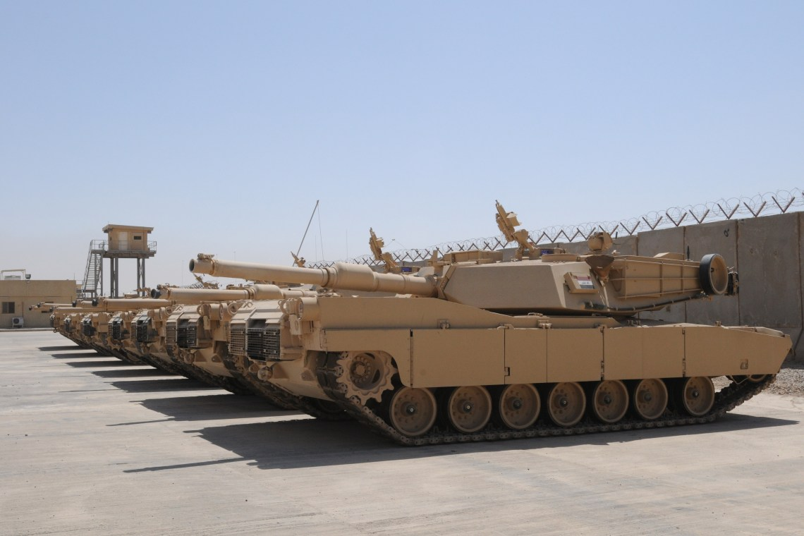 The last shipment of M1A1 Abrams tanks arrived mid-August completing the Government of Iraq's purchase of 140 tanks through a Foreign Military Sales agreement with the United States.
