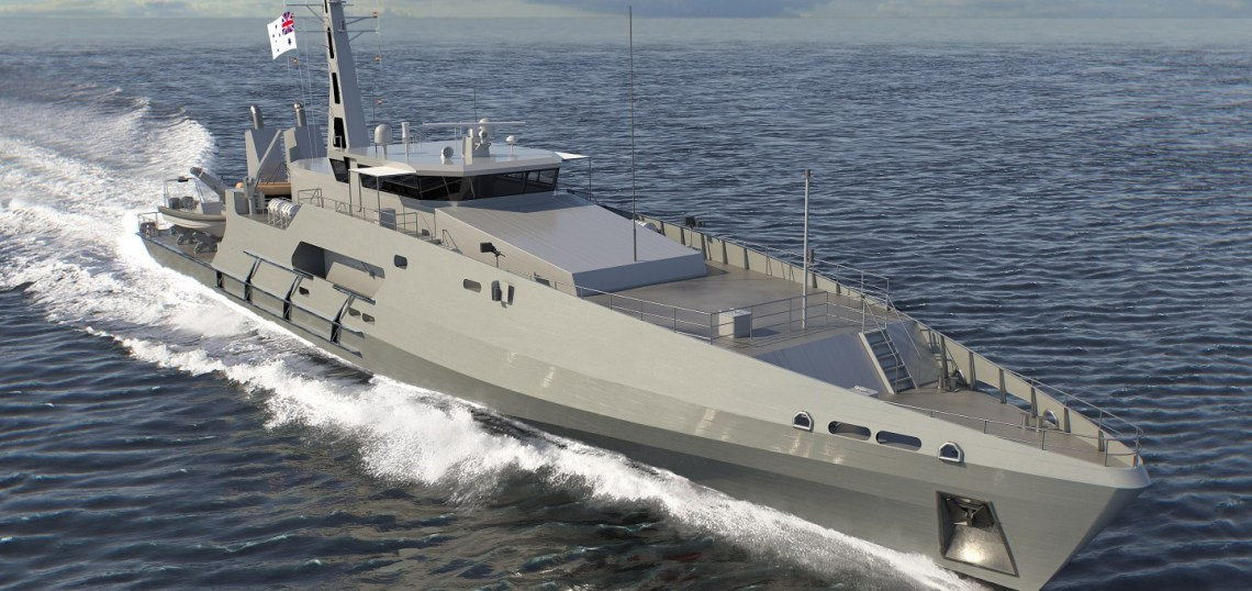 Austal Australia Cuts Metal on Third of Six Cape-Class Patrol Boats for Royal Australian Navy