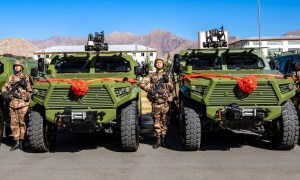 Dongfeng Mengshi Assault Vehicles Enter Service with Chinese PLA Border Defense Troops