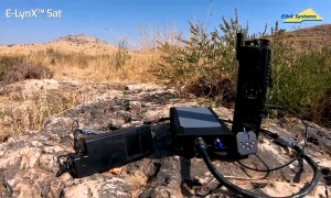 Elbit Systems Launches E-LynX-Sat Portable Tactical SATCOM System