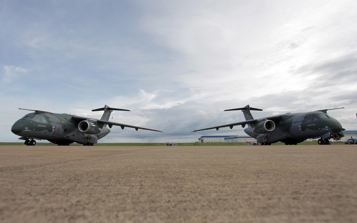 Embraer C-390 Millennium Medium-size Military Transport Aircraft