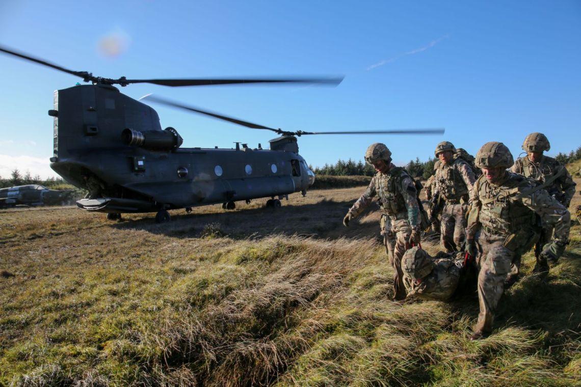 Squadron Royal Air Force Regiment, seen here on exercise Crimson Warrior at RAF Spadeadam.