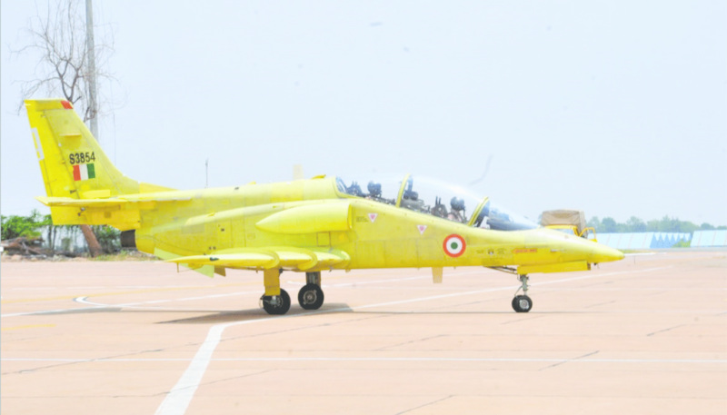 Hindustan Aeronautics Limited Resumes Spin Tests of Intermediate Jet Trainer (IJT)