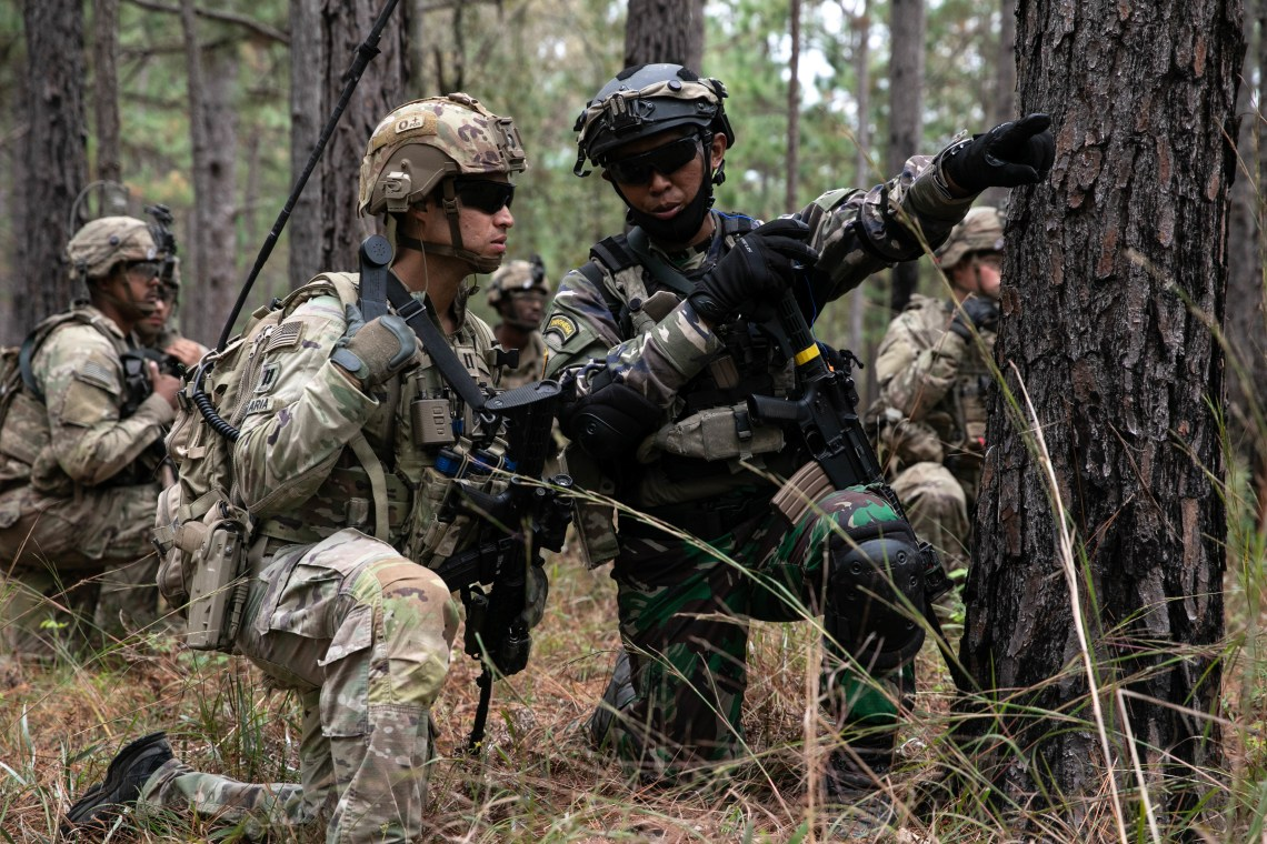Thousands of US Soldiers Train with Indonesian and Royal Thai Armies in Louisiana