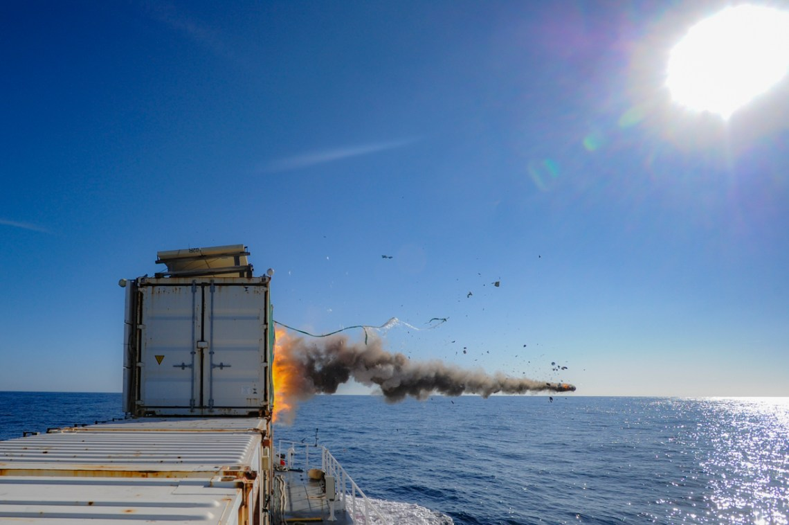 MBDA Completes Qualification Firing Trials of Sea Venom Lightweight Anti-Ship Missile