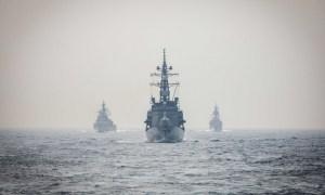 India Navy Hosts Japan, Australia, US in Naval Exercise MALABAR 2020