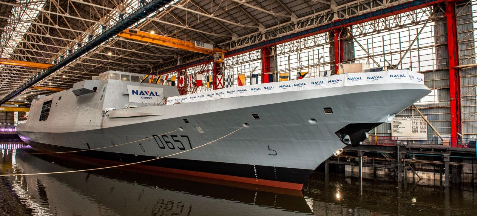 Naval Group Launches Final Fremm Frigate for French Navy