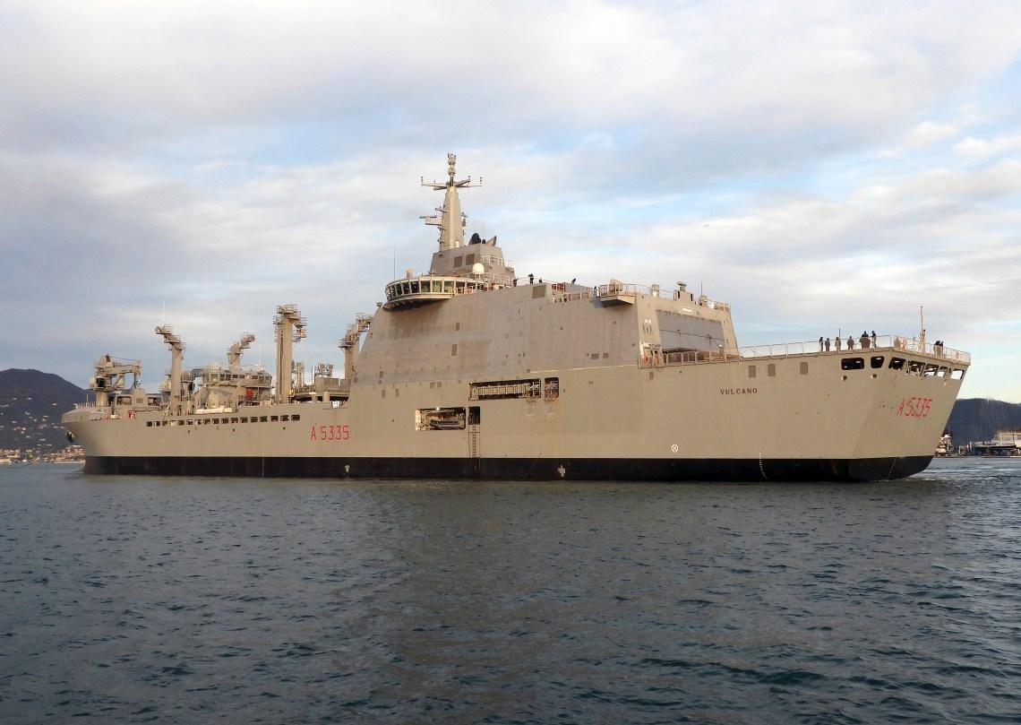 OCCAR Signs Contract Amendment N° 4 for Italian Navy Auxiliary Ship Vulcano
