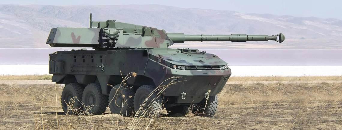 Otokar Arma 8x8 Wheeled Armored Vehicle