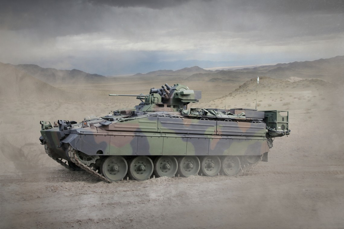 Rheinmetall to Supply Thermal Aiming Devices for German Army Marder Infantry Fighting Vehicles