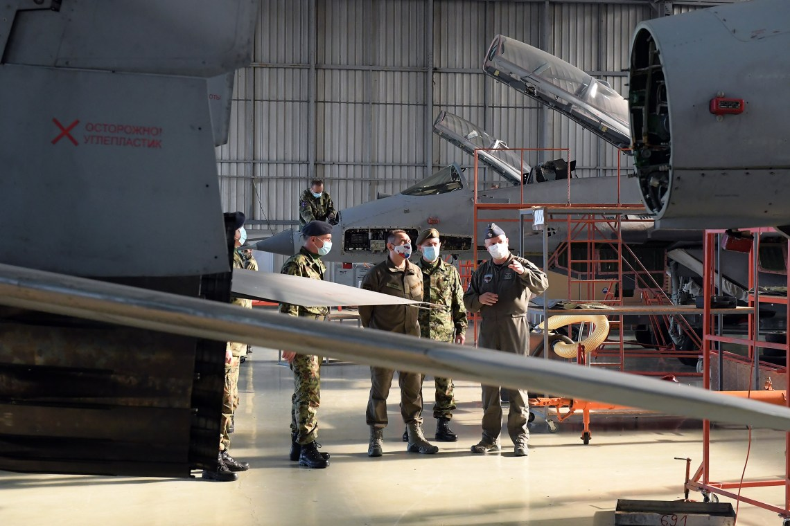 Serbian Mikoyan MiG-29 Fighters Modernised