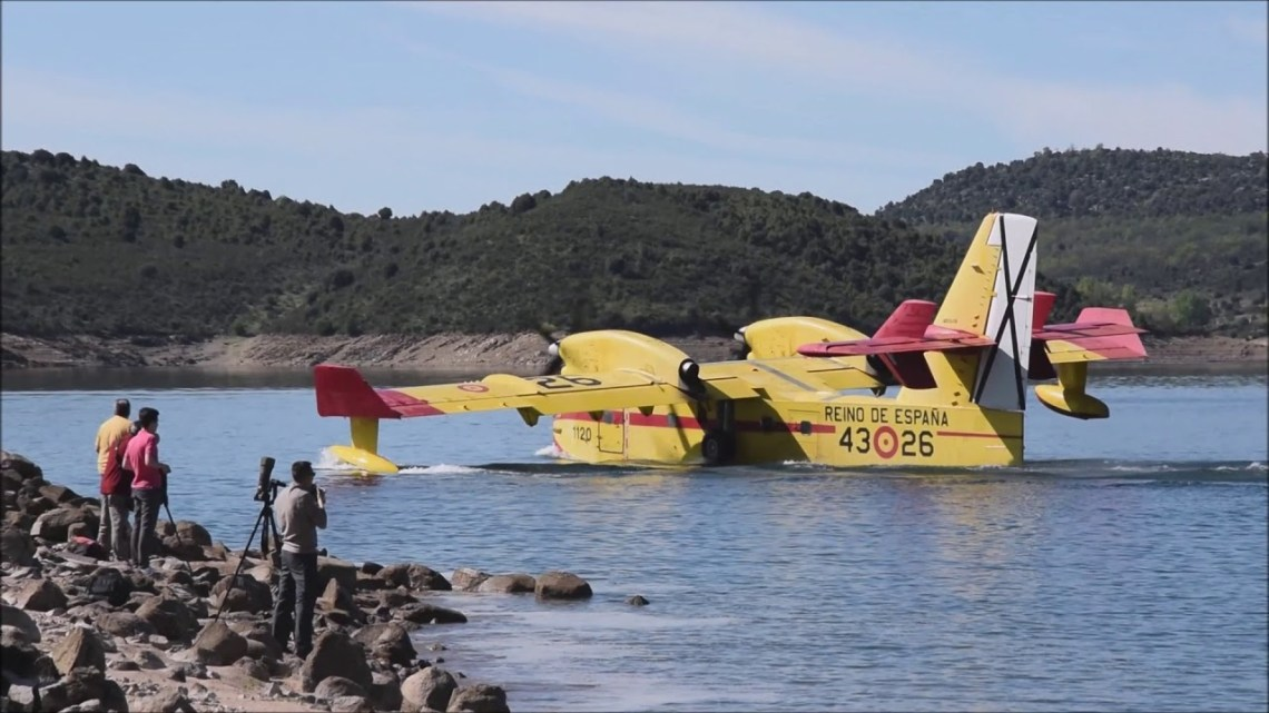 Spanish Air Force 43rd Grupo Firefighting Squadron CL-215/415