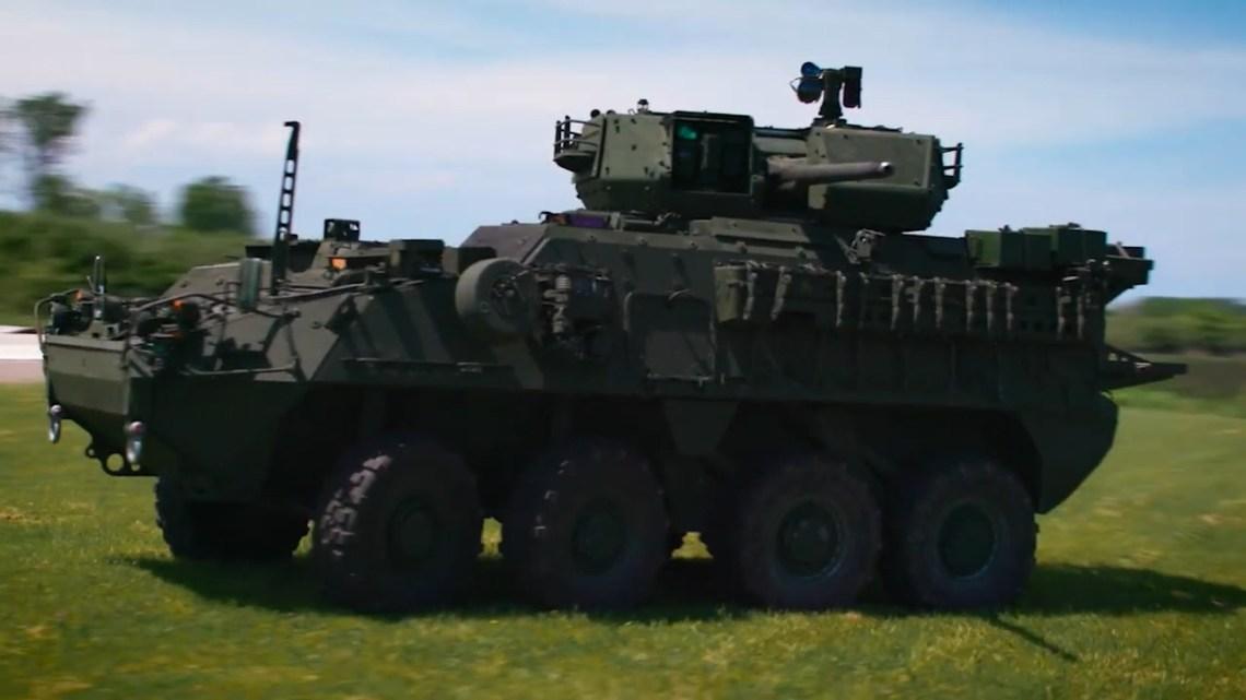 Stryker A1 Medium Caliber Weapon System (MCWS)