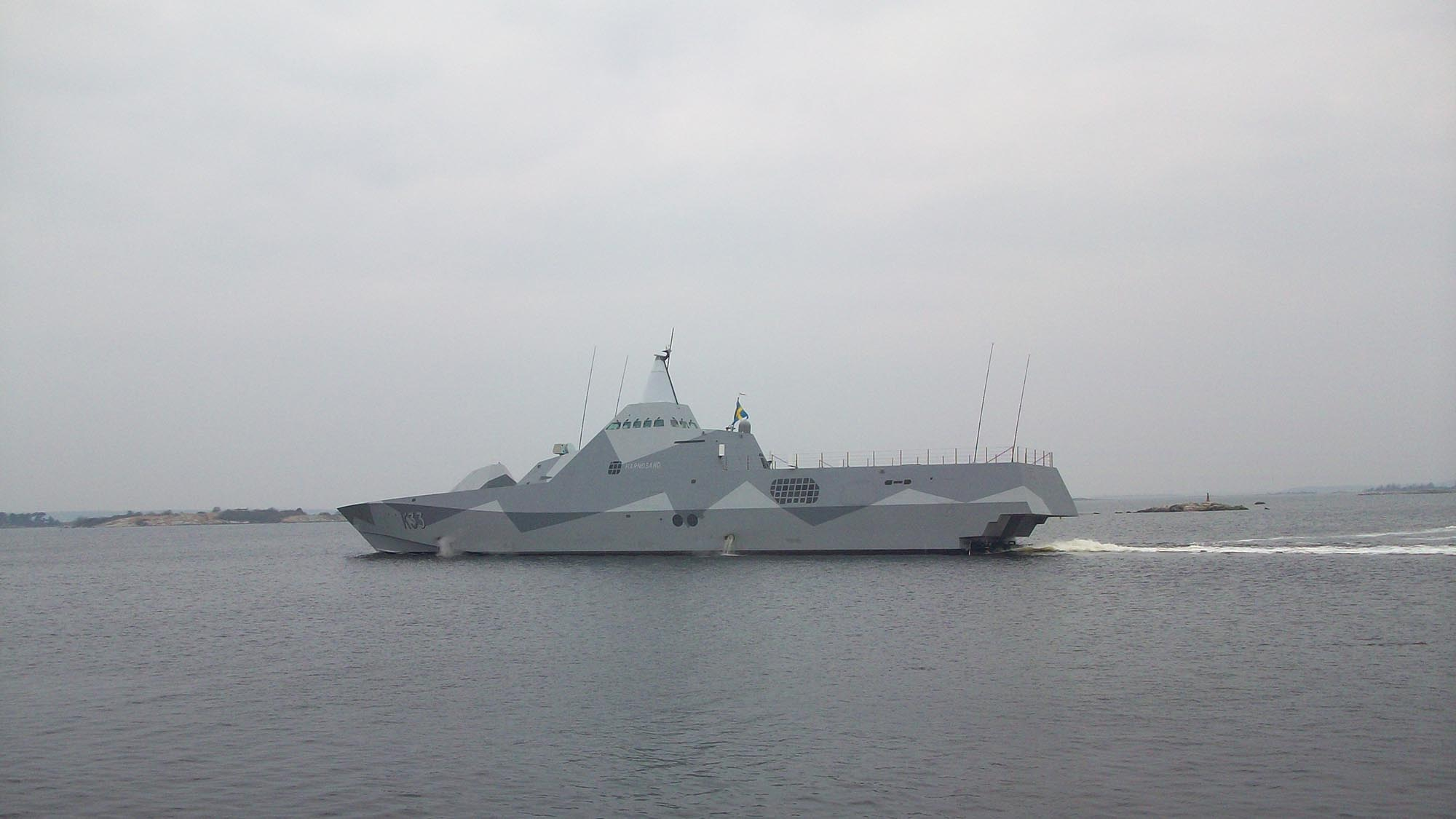 Swedish Navy Tests Link 22 Exchanges with Finland
