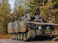 Swiss CV90 Infantry Fighting Vehicle