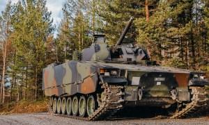Swiss CV90 Infantry Fighting Vehicle