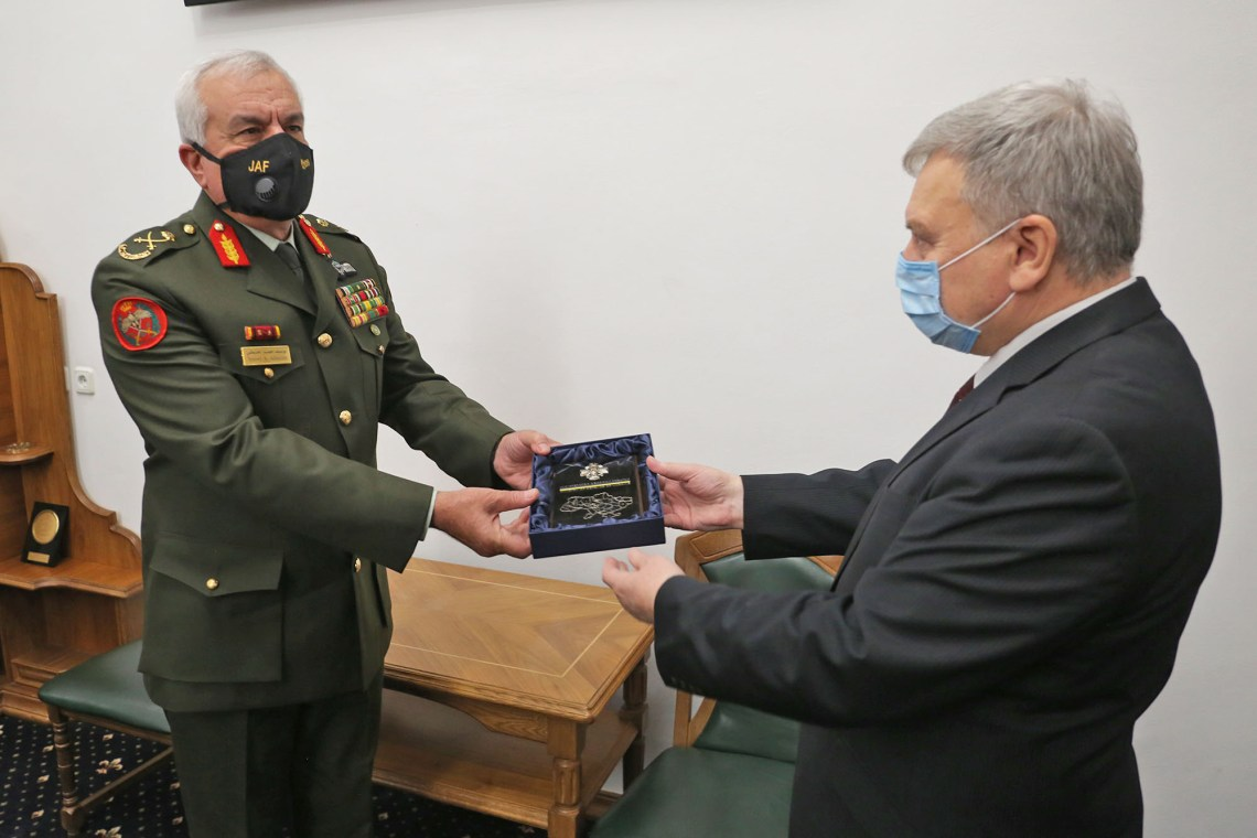 Ukraine and Jordan May Cooperate More Actively in Defense