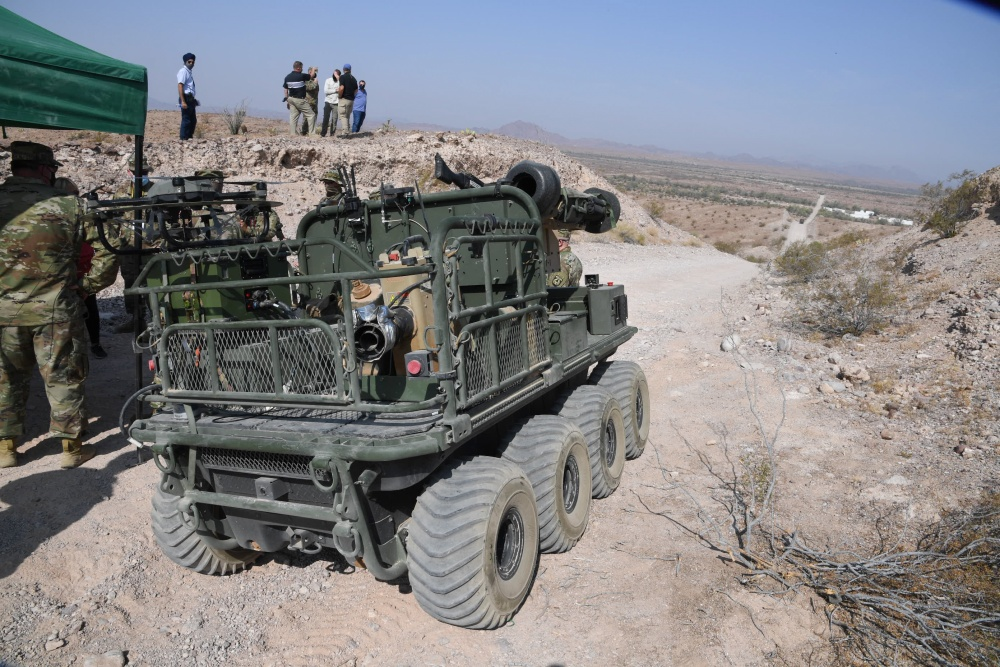 US Army Tests Multi-Utility Tactical Transport (MUTT) at Yuma Proving Ground's (YPG)