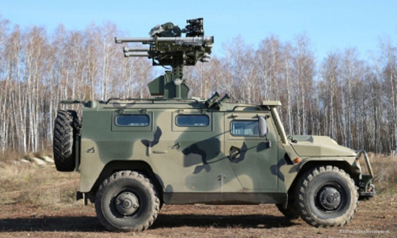 Gibka-S Combat vehicle of MANPADS squad