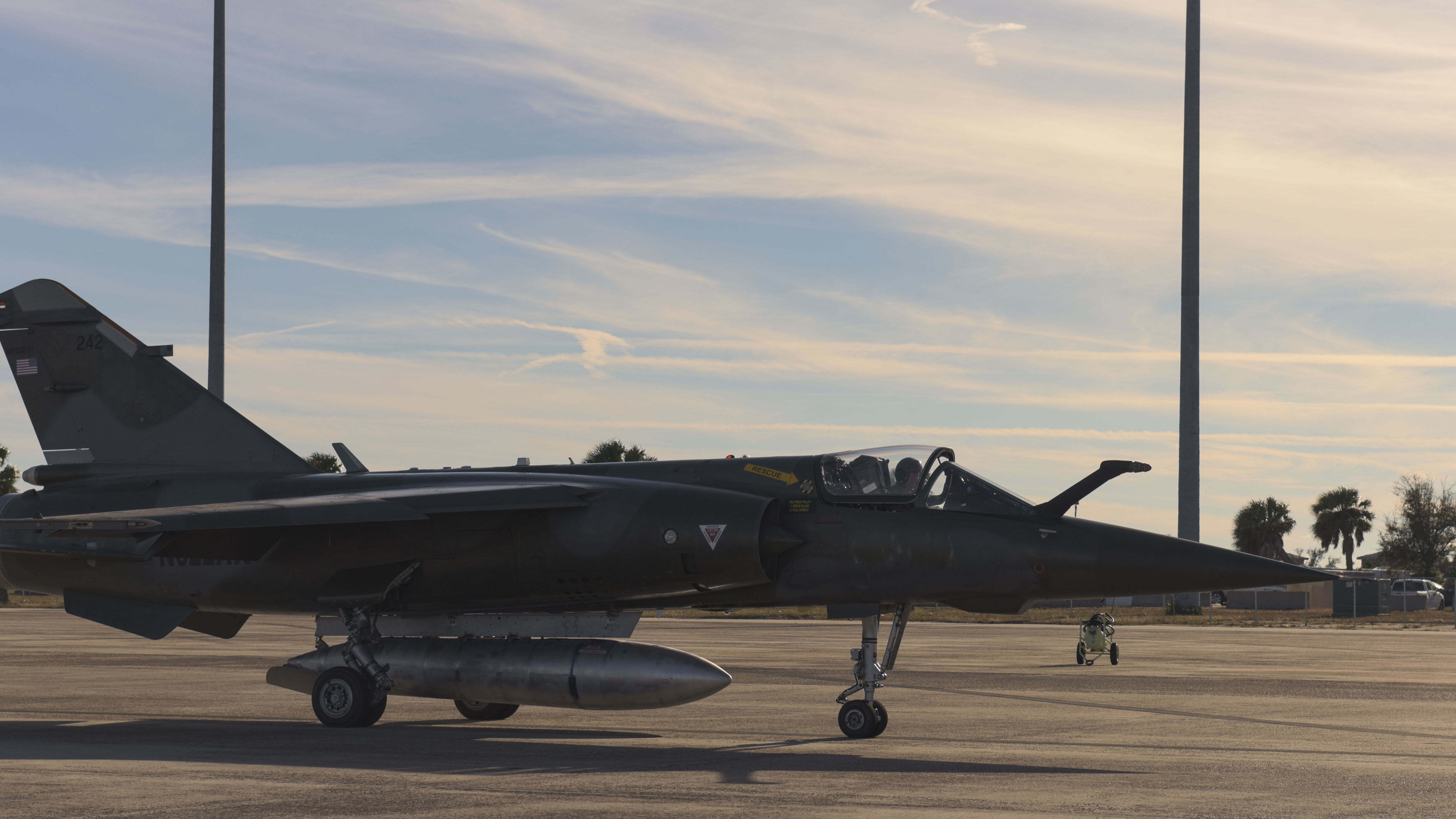 Airborne Tactical Advantage Company Mirage F-1Cs to Play Aggressor Role at Tyndall AFB