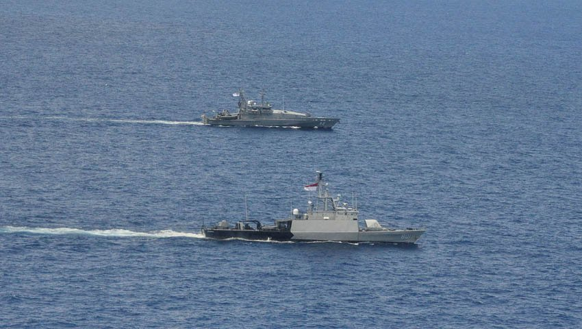 Australian and Indonesian Navies Complete Two-day Maritime Patrol