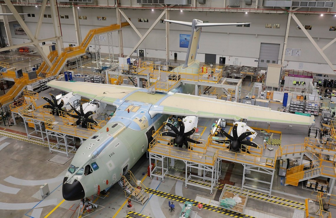 Belgian Air Component received first Airbus A400M Atlas military aircraft