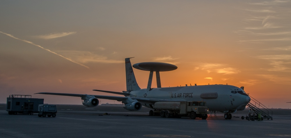 Boeing E-3 Sentry Airborne Warning and Control System aircraft