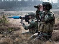 Dutch Army Panzerfaust 3 anti tank rocket launcher