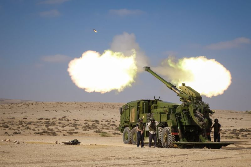 Elbit Systems ATMOS 155mm self propelled howitzer