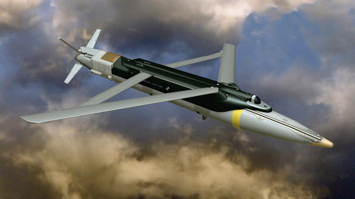 GBU-39/B Small Diameter Bomb (SDB) precision-guided glide bomb.