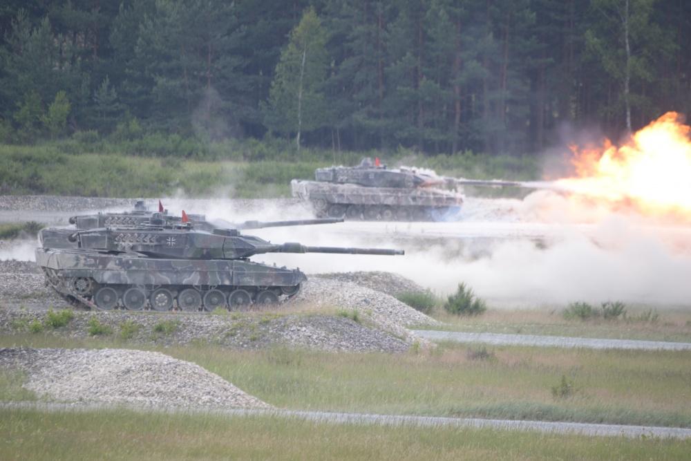 German Army Leopard A6 Main Battle Tank