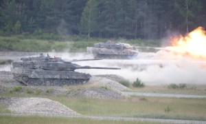 German Army Leopard A6 Main Battle Tank