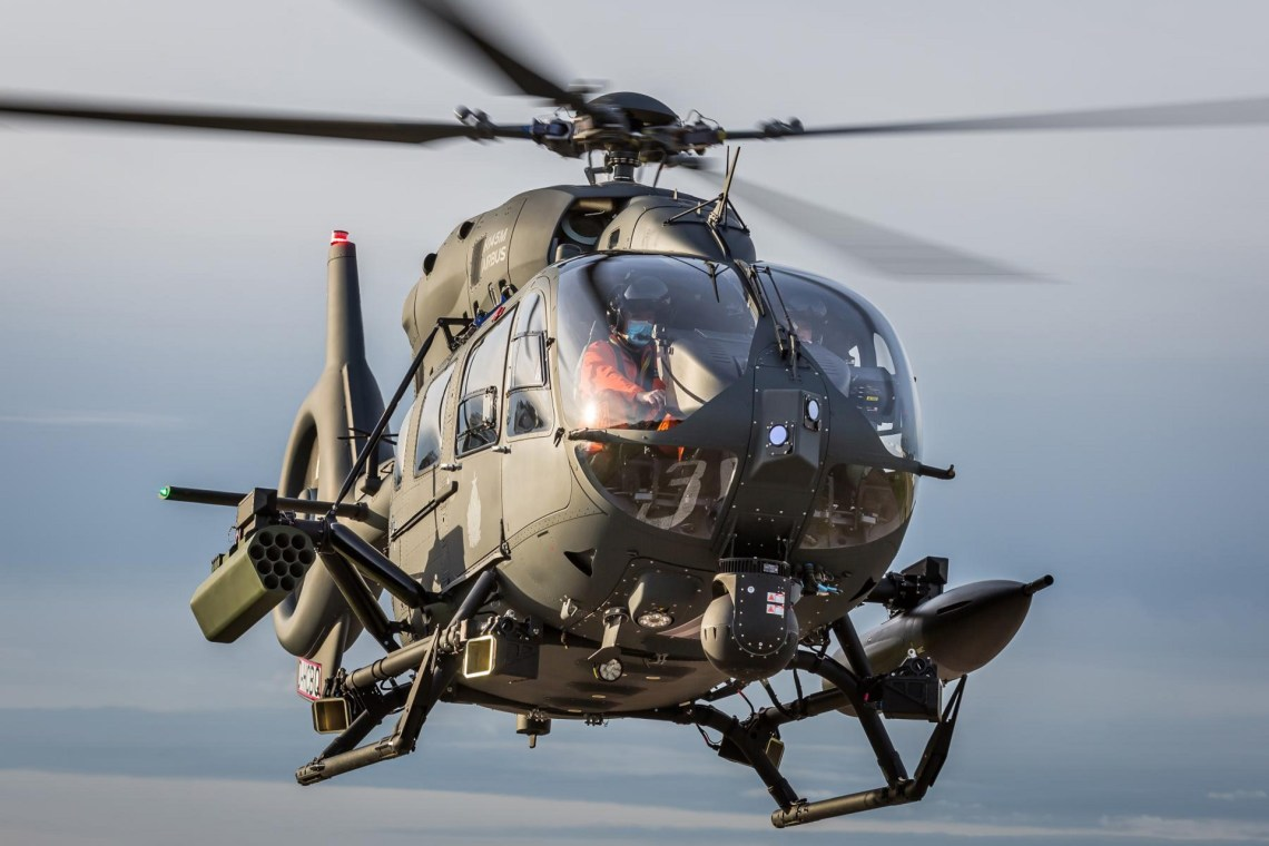 Airbus Upgrades Hungarian H145Ms with HForce Weapons Management