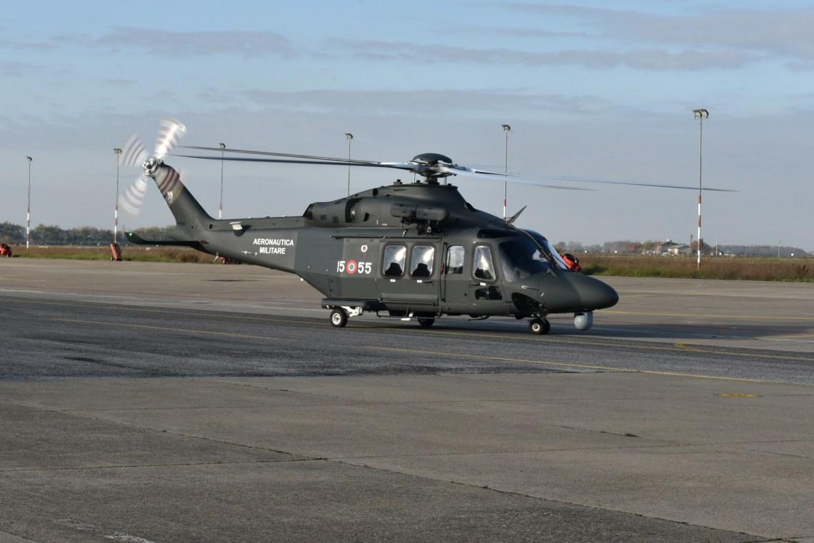 Italian Air Force Takes Delivery of First HH-139B Combat SAR Helicopter