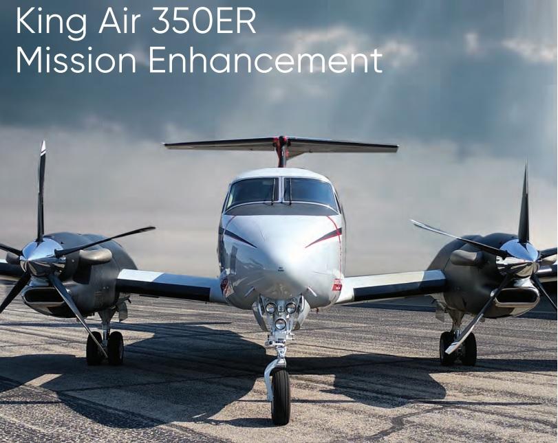 SNC King Air B300ER Mission Enhancement