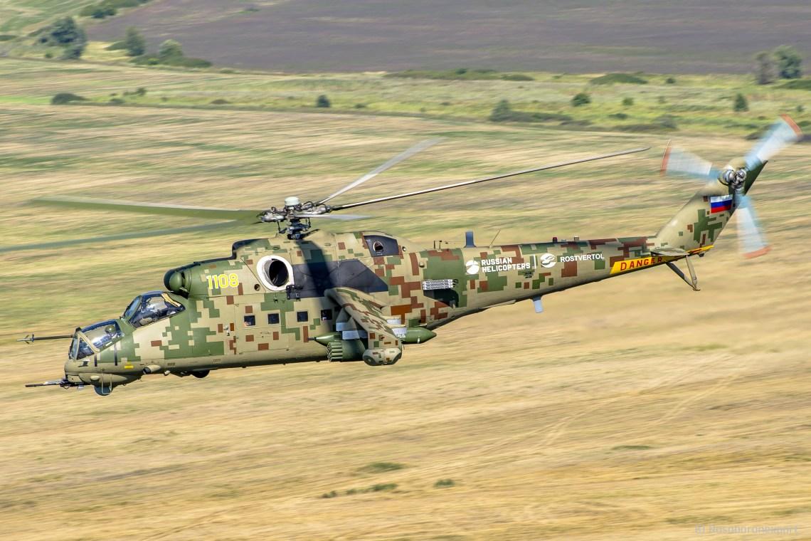 "Mil Mi-35P ""Phoenix"" Attack Helicopter"