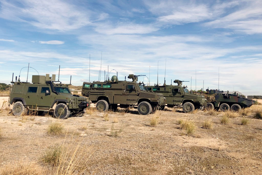Netline Communications Technologies has completed the testing & evaluation phase of the C-Guard RJ vehicular counter-IED system, on 12 types of Spanish MOD vehicle