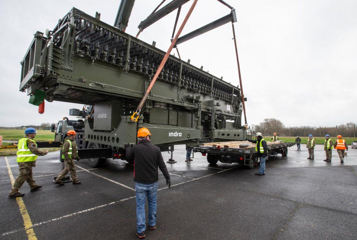 New Indra Long-Range Air-Defense Radar Delivered to UK