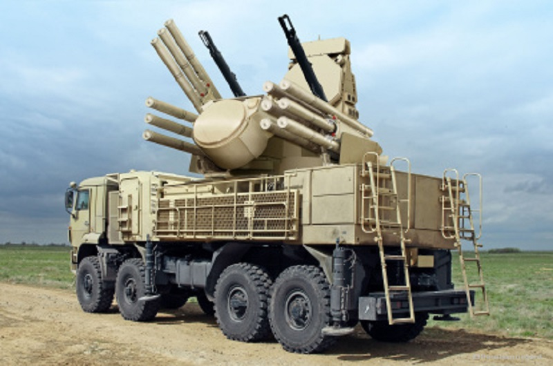 Pantsir-S1 Anti-Aircraft Missile and Gun System (AAMGS)