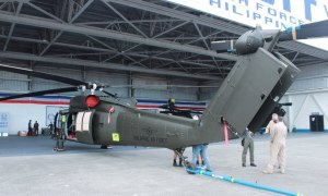 Philippine Air Force Inducts New S-70i Black Hawk Helicopters