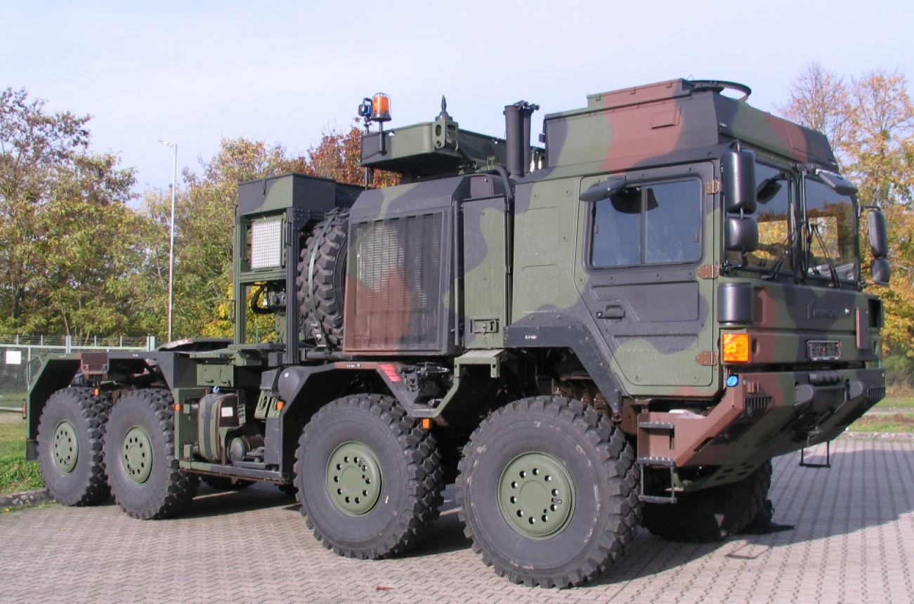 Rheinmetall to Supply German Armed Force with HX81 SaZgM Heavy Tractor Trailers