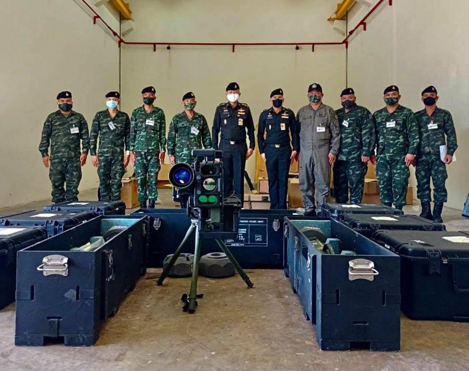 Spike-MR medium range anti-tank guided missile of Royal Thai Army