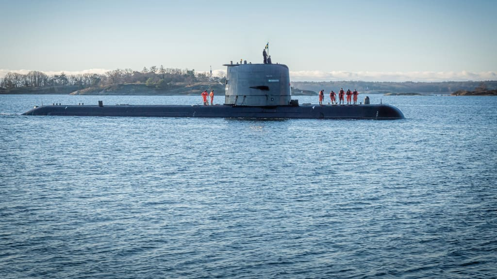 SAAB Delivers HMS Uppland Gotland-class Submarine to Swedish Navy