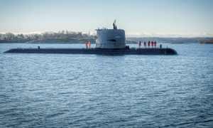 SAAB Delivers HMS Uppland Gotland-class Submarine to Swedish Navy