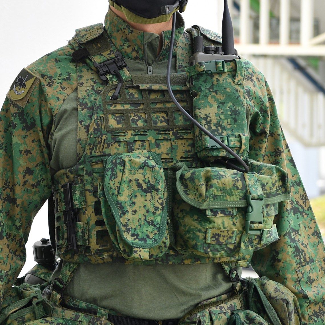Singapore Army Unveils New Personal Equipment (PE)