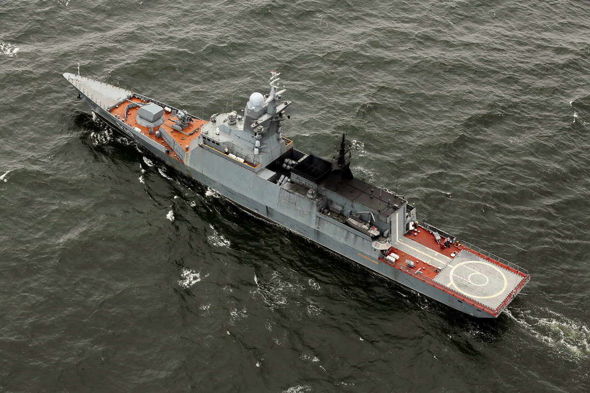 Russian Navy Steregushchiy-class corvette (Project 20380)