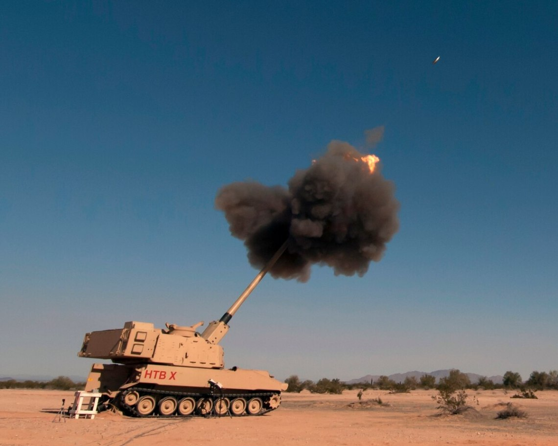 U.S. Army Yuma Proving Ground conducts developmental testing of multiple facets of the Extended Range Cannon Artillery project, from artillery shells to the longer cannon tube and larger firing chamber the improved howitzer will need to accommodate them.