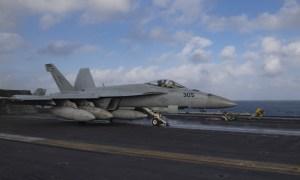 US Navy Nimitz Carrier Strike Group Supports Operation Octave Quartz
